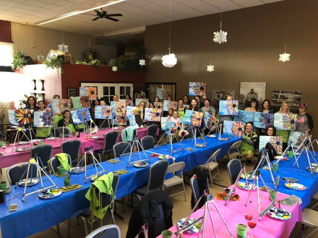 Paint Nites at AntoLin Cellars