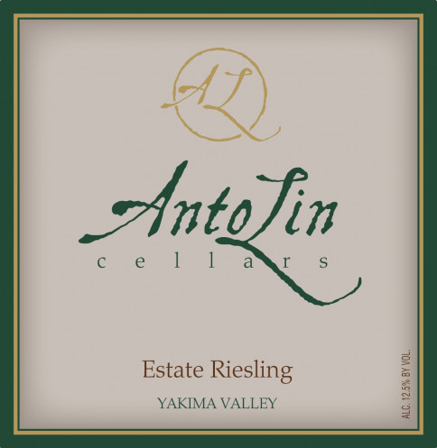 AntoLin Cellars Estate Riesling
